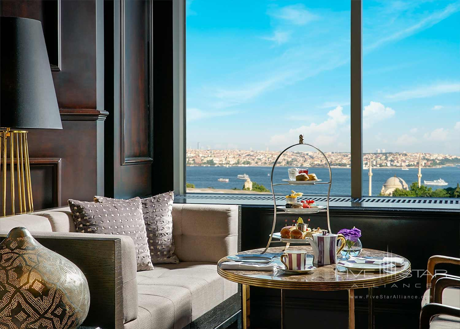 High Tea at Ritz Carlton Istanbul, Turkey