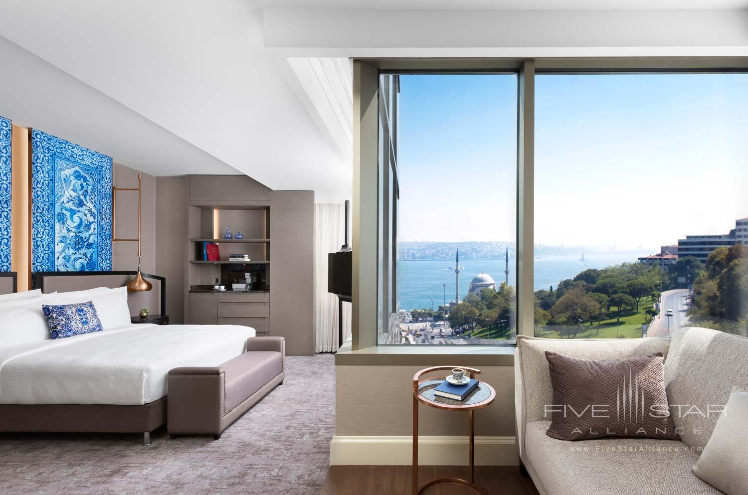 Premium Bosphorus View Room at Ritz Carlton Istanbul, Turkey