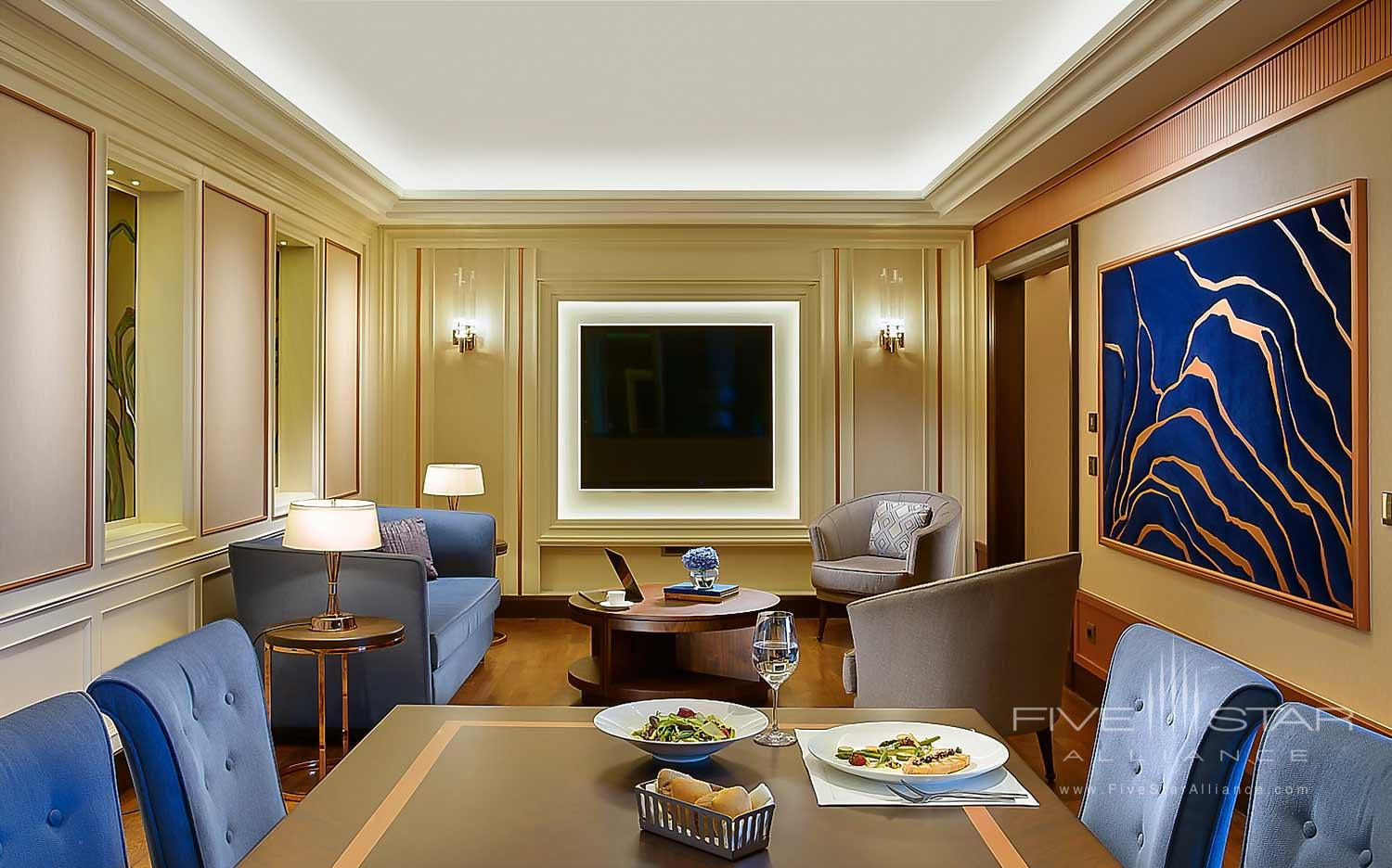 Presidential Suite at Ritz Carlton Istanbul, Turkey