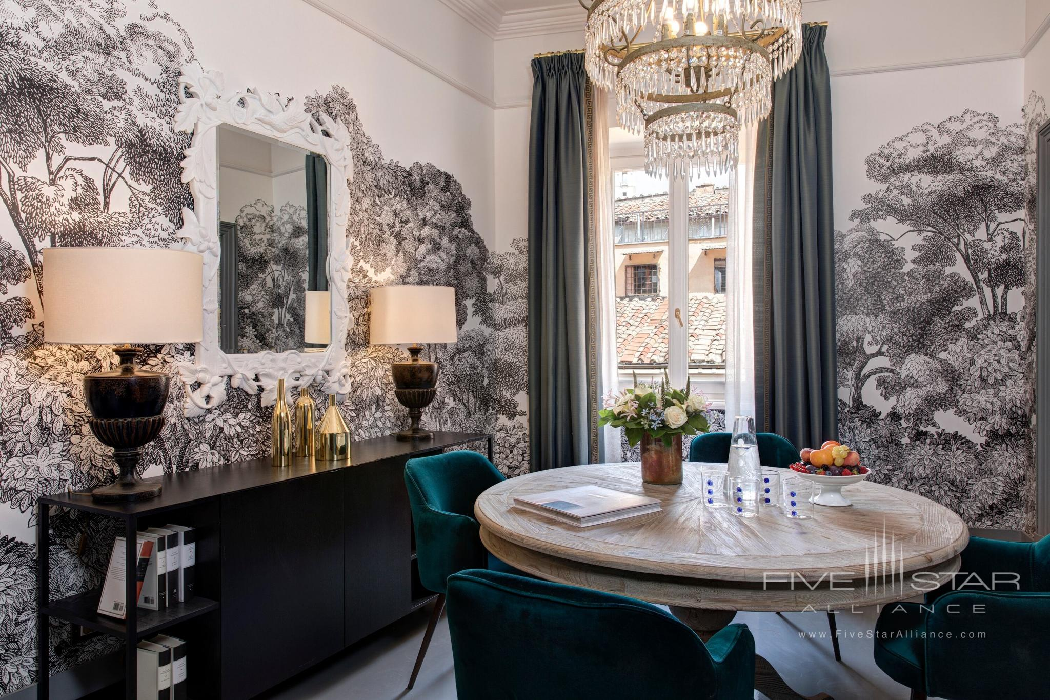 Rocco Forte House Roma Borghese Suite