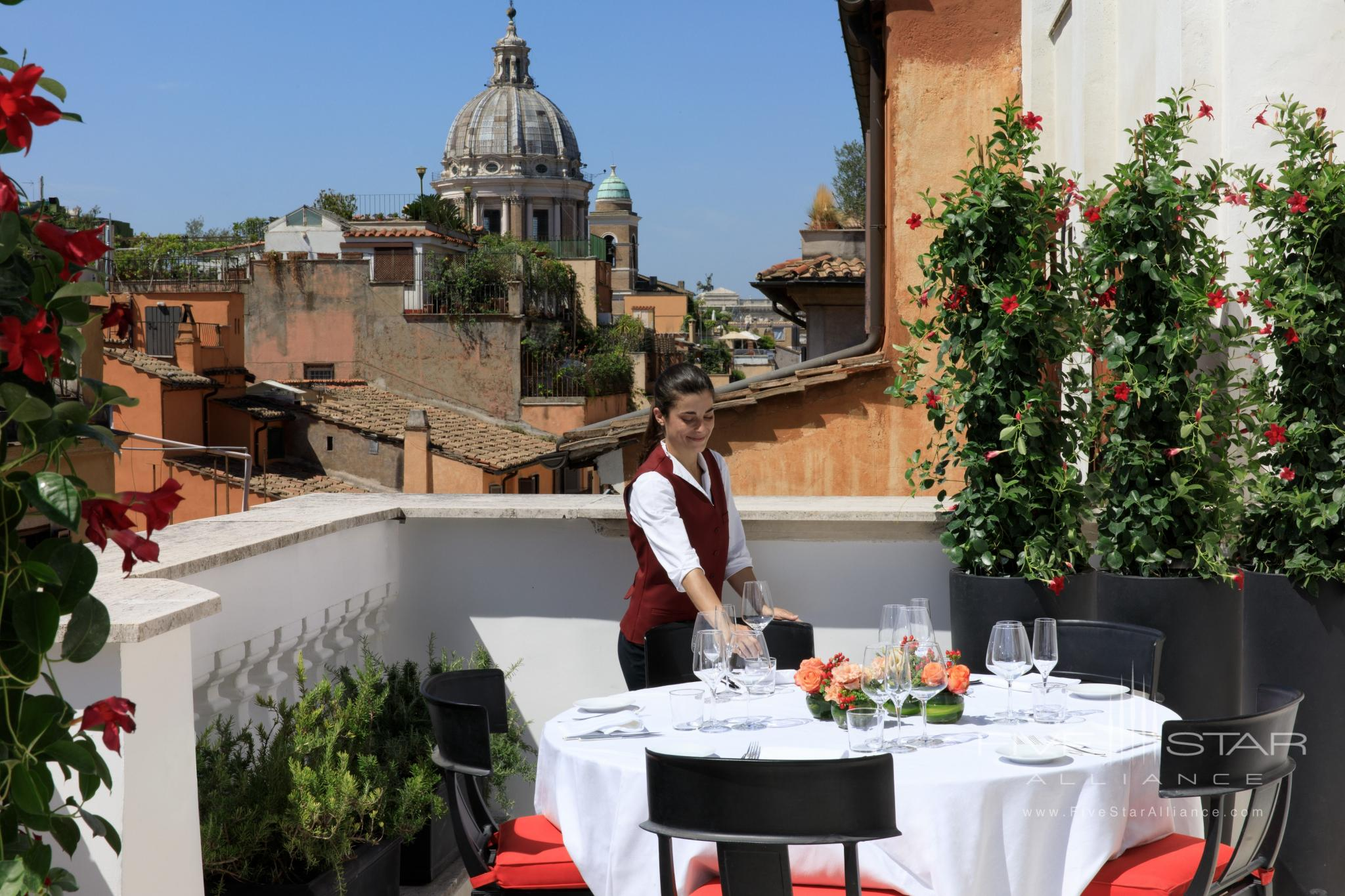 Rocco Forte House Roma Dining