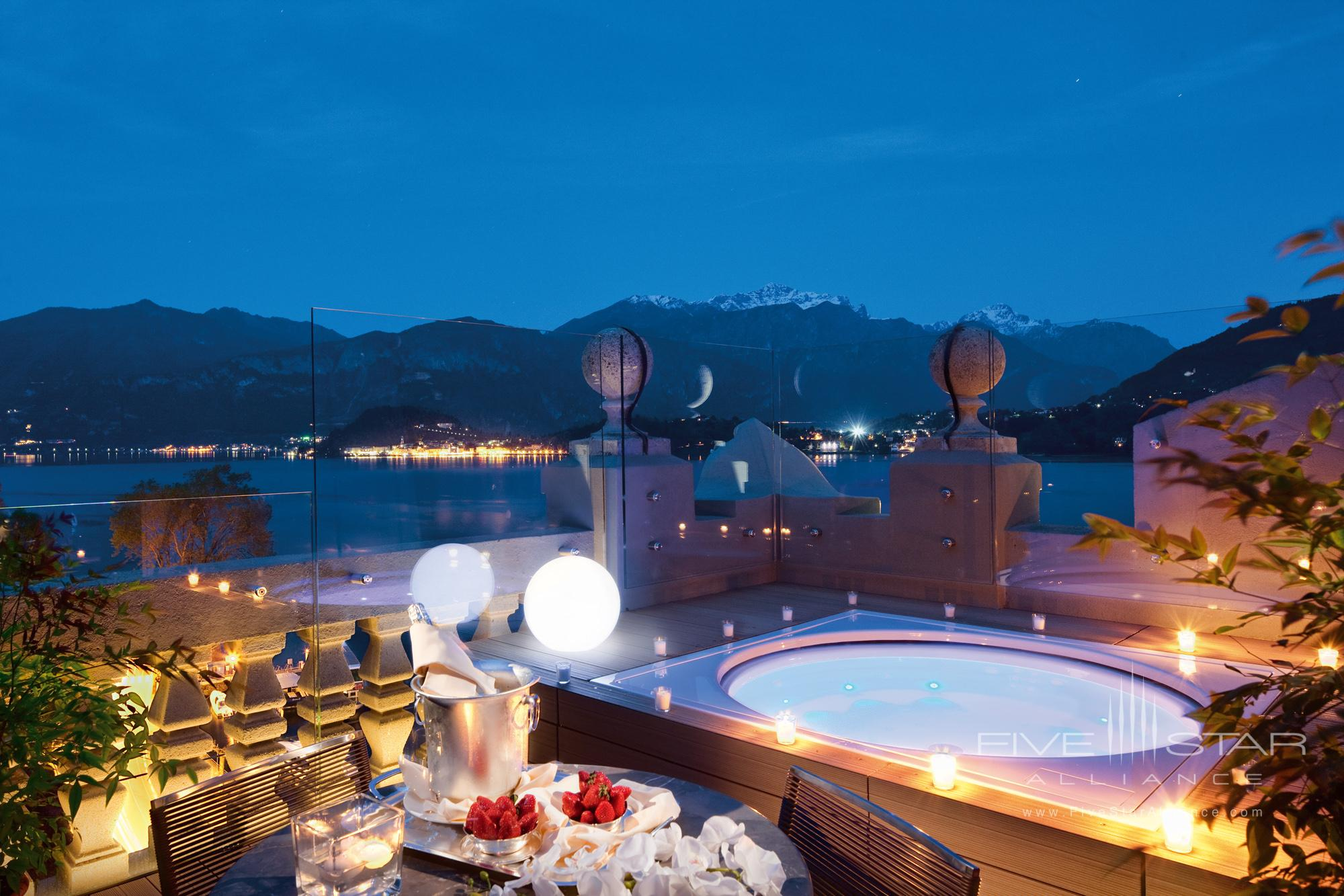 Grand Hotel Tremezzo Rooftop Floor Corner Suite