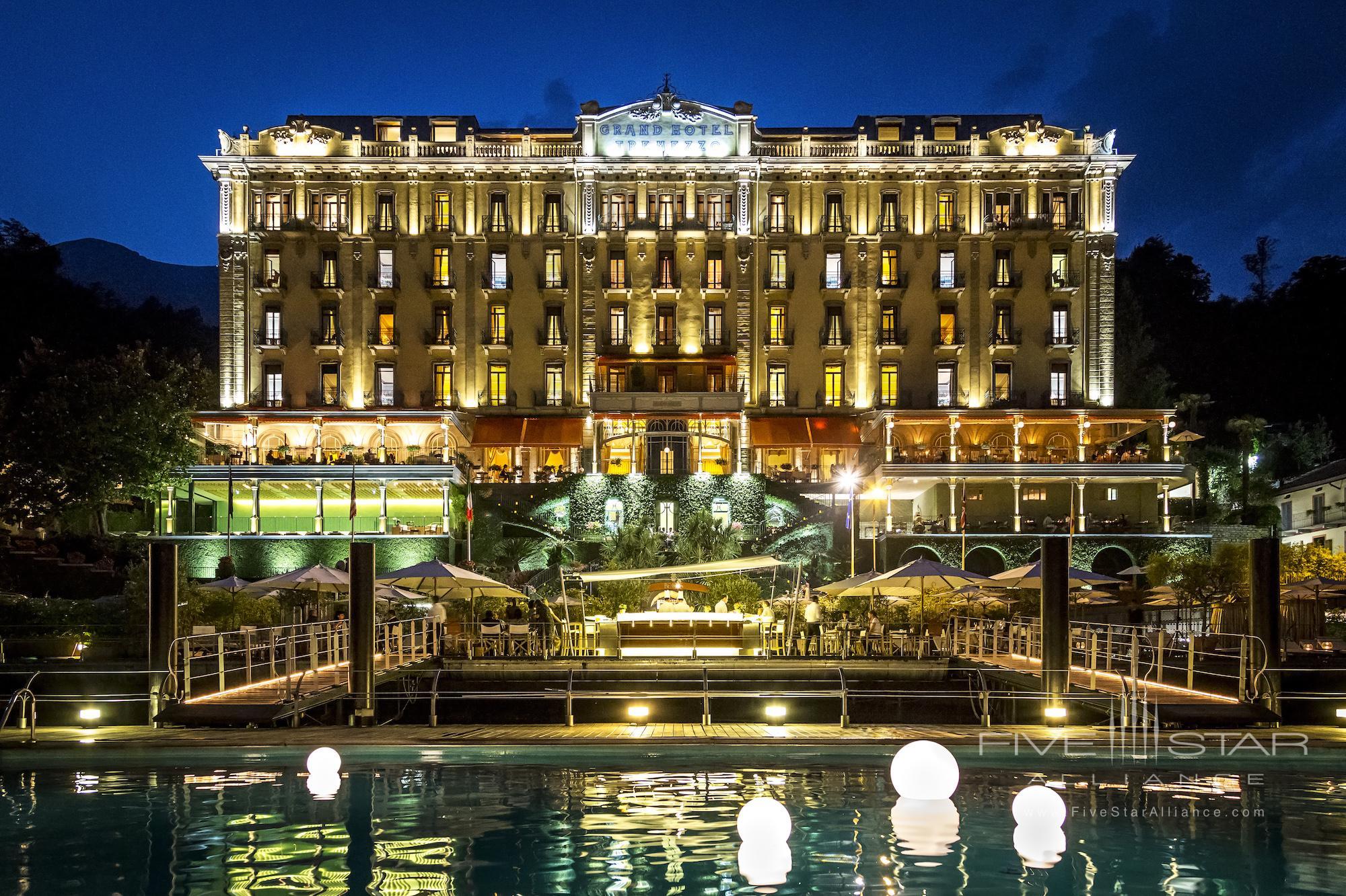 Grand Hotel Tremezzo Palace at Night