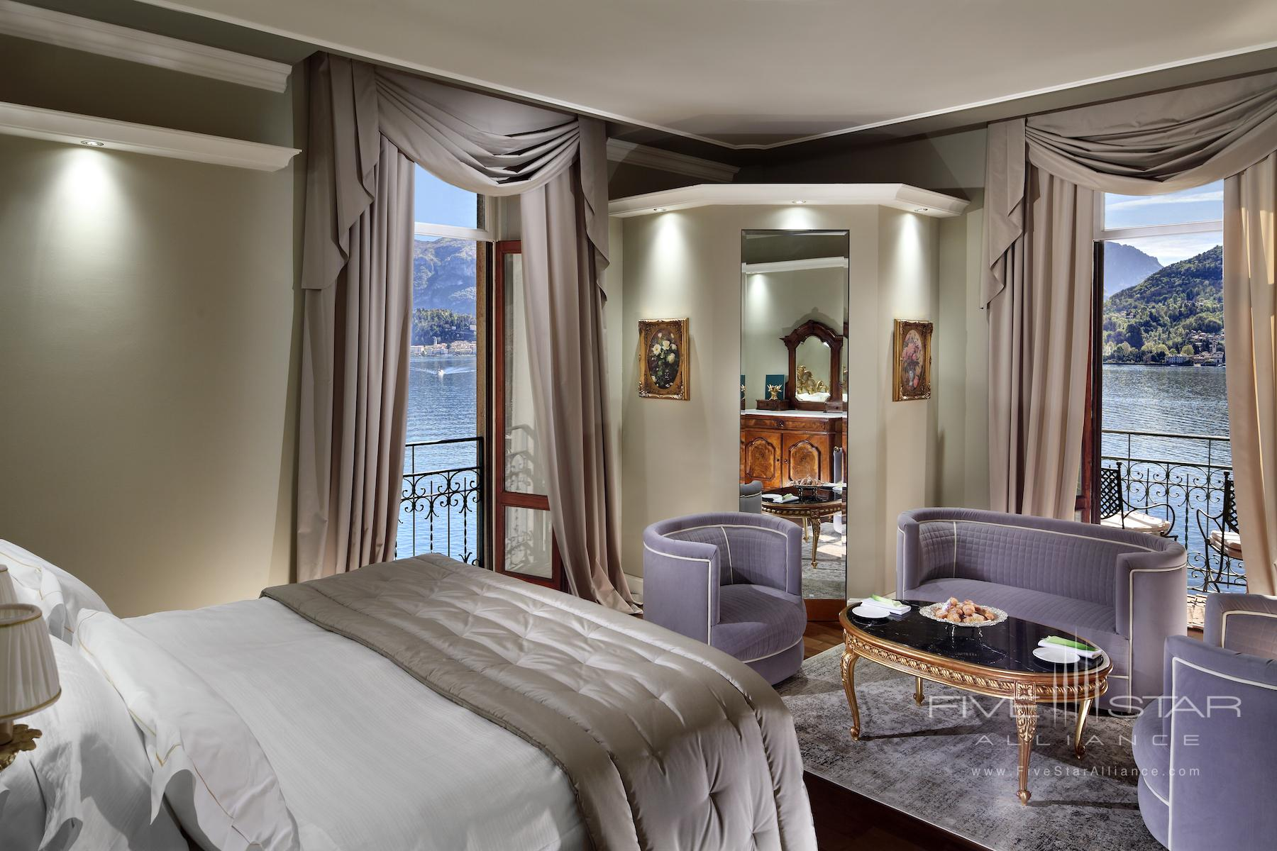 Grand Hotel Tremezzo Lake View Deluxe Room