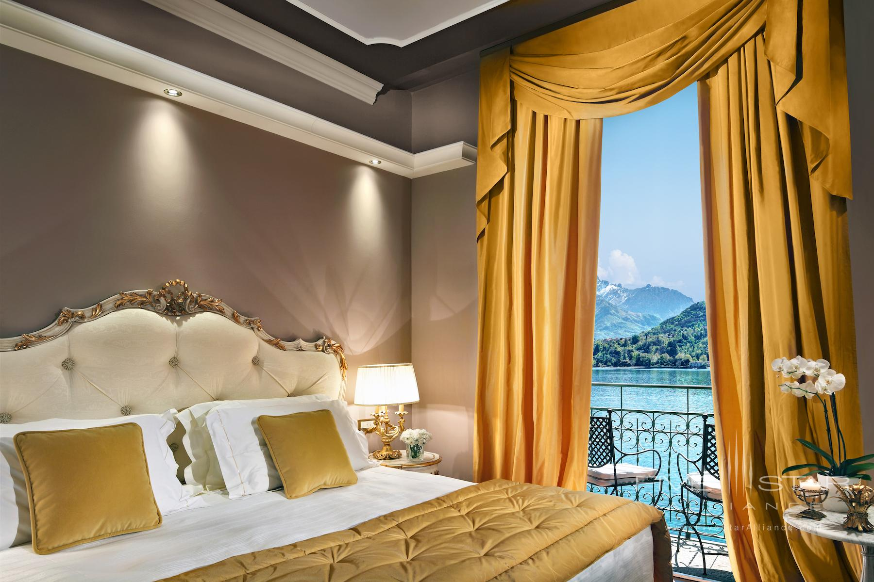 Grand Hotel Tremezzo Signature Suite Bedroom