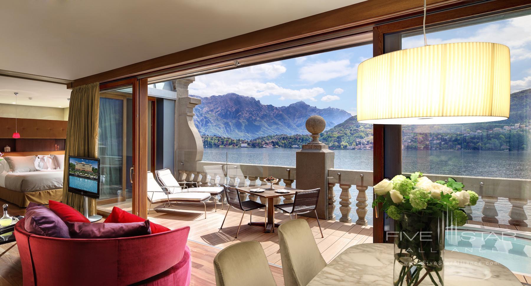 Grand Hotel Tremezzo Rooftop Floor Front Suite