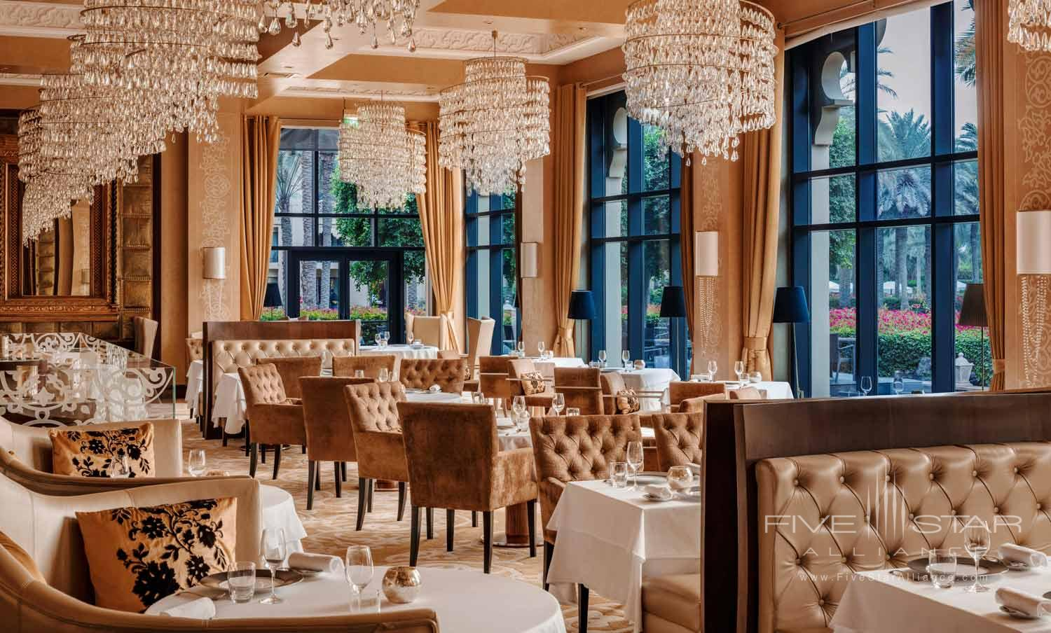 One&Only Royal Mirage  Main Dining Room