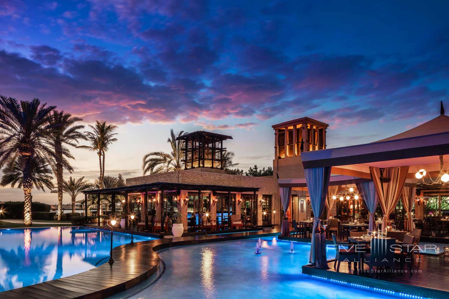 One&Only Royal Mirage  EauZone Restaurant