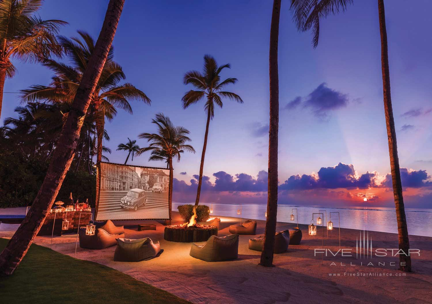 One&Only Reethi Rah Maldives Private Outdoor Cinema