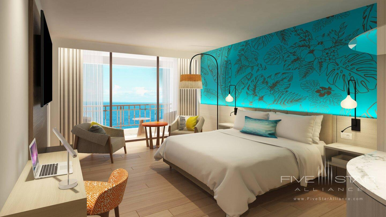 Curacao Marriott Beach Resort King Guest Room