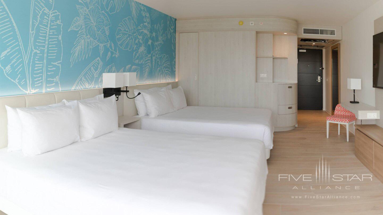Curacao Marriott Beach Resort Double Guest Room