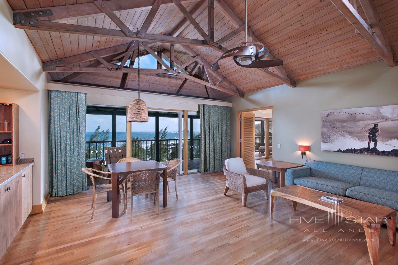 Hana-Maui Ocean View Suite Living Area