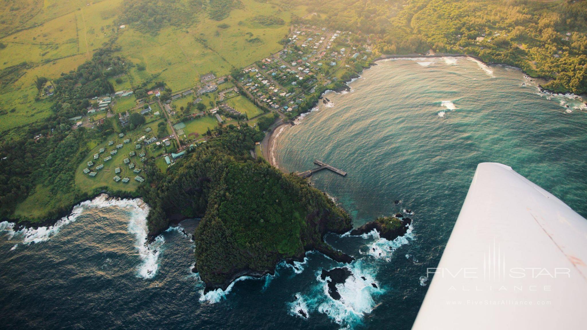 Hana-Maui Plane Aerial