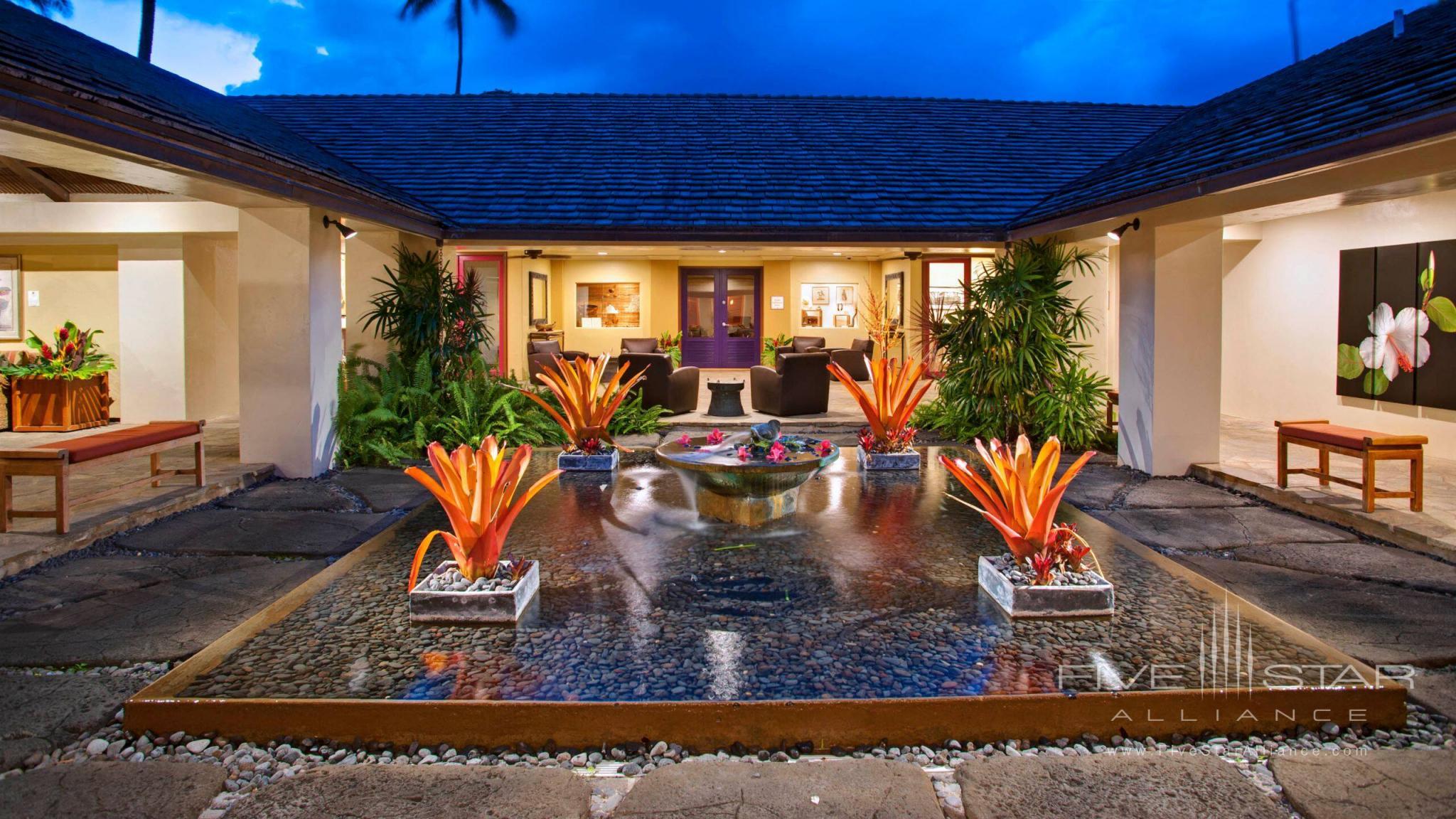Hana Maui Resort Lobby