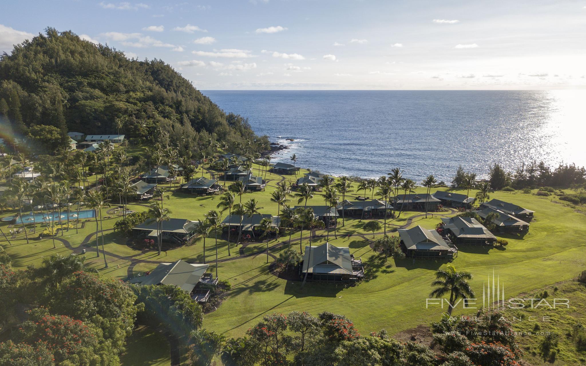 Hana-Maui Resort Aerial