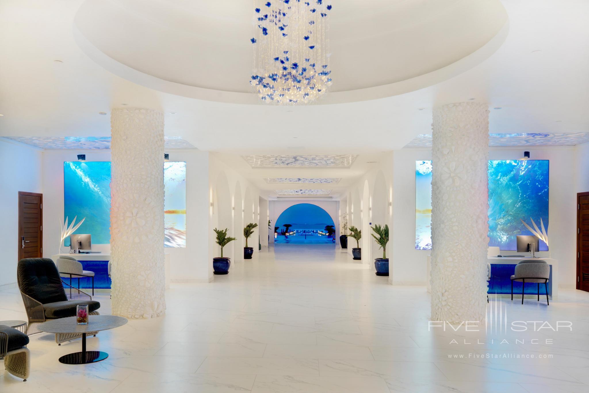 Lobby of Aurora Anguilla