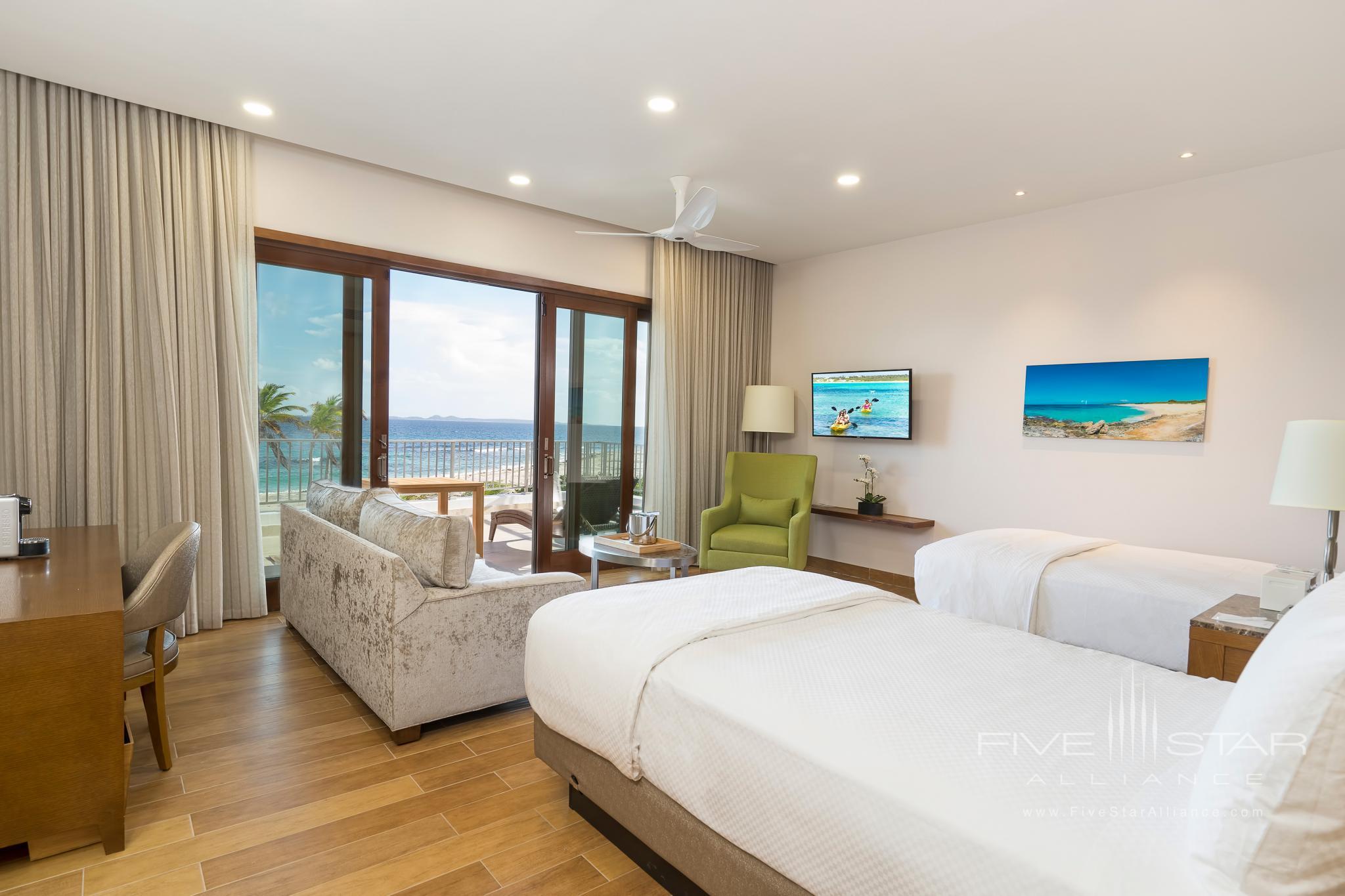 Beachfront Double Bed Suite at Aurora Anguilla