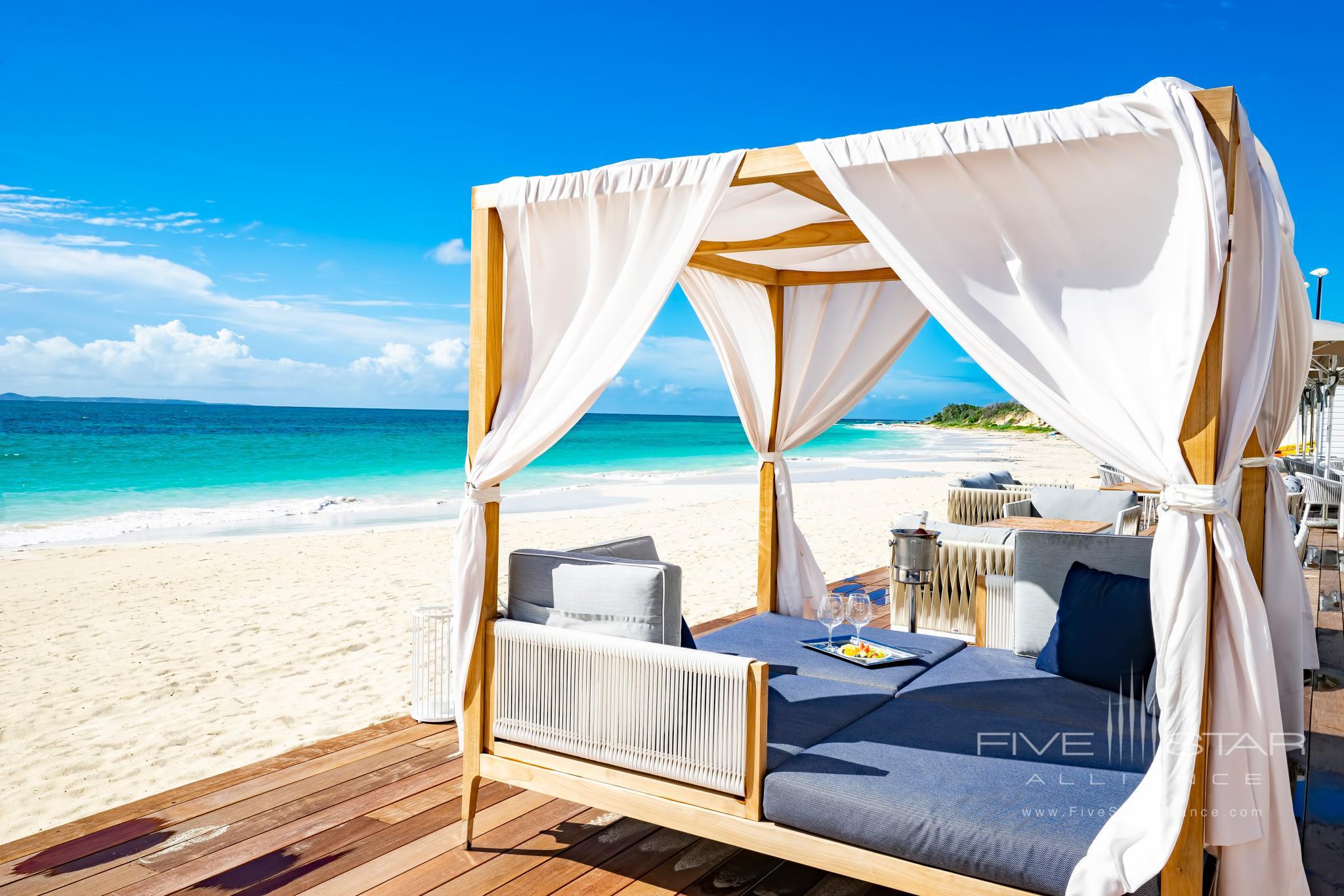 Beach Cabanas at Aurora Anguilla