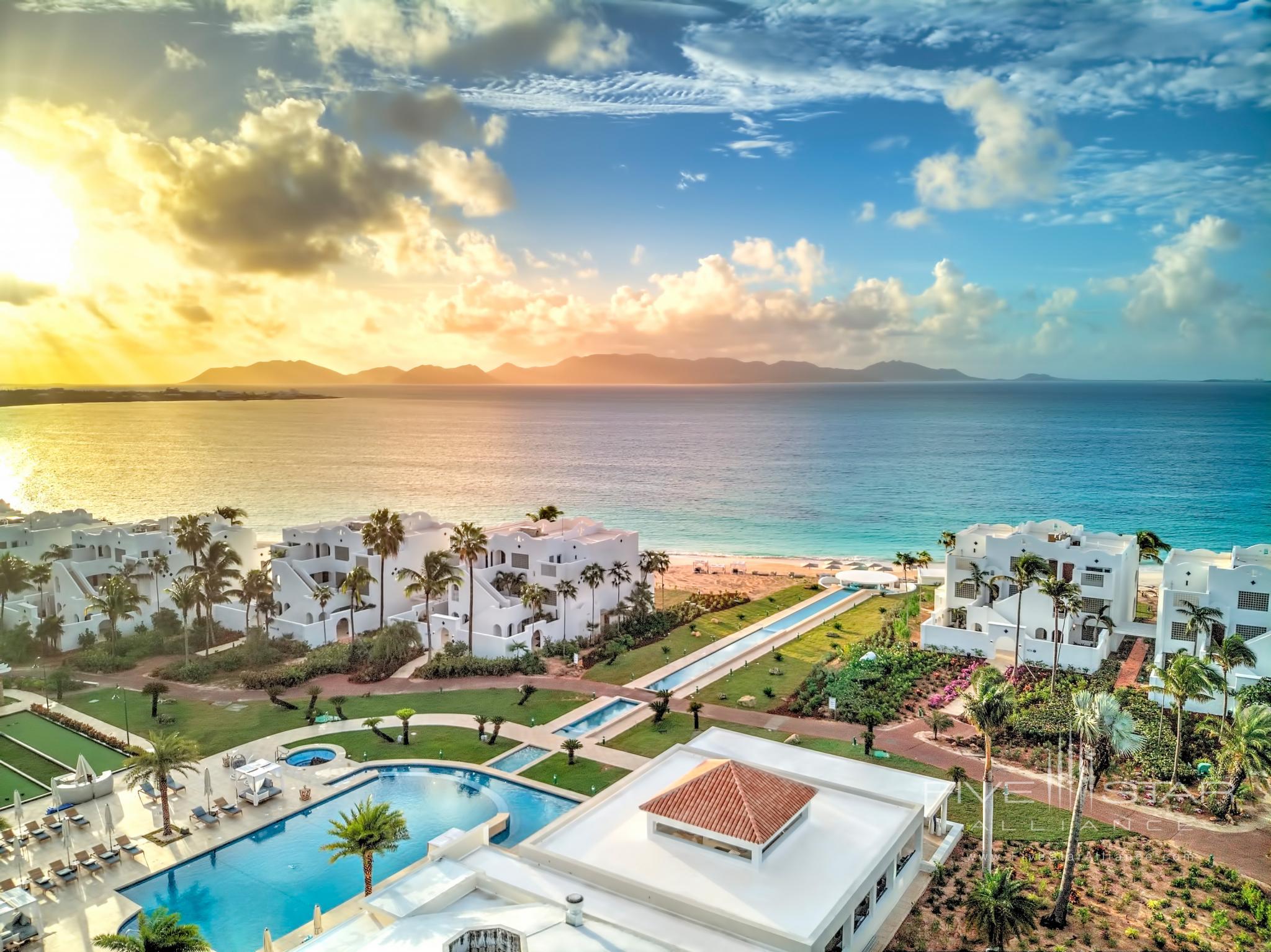 Sunrise at Aurora Anguilla