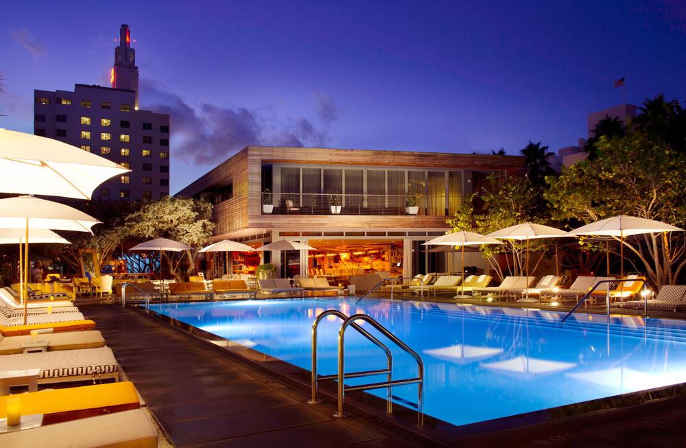 Sls Hotel South Beach Miami Fl United States