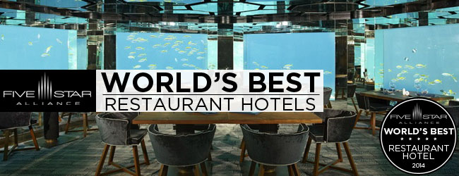 The Best Restaurant Hotels for 2014