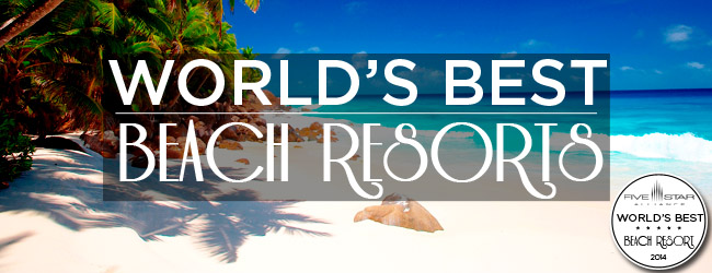 Best Beach Resorts 2014