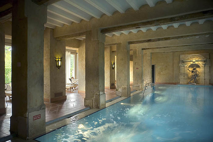 Highlight On Chateau St Gerlach S Indoor Roman Swimming