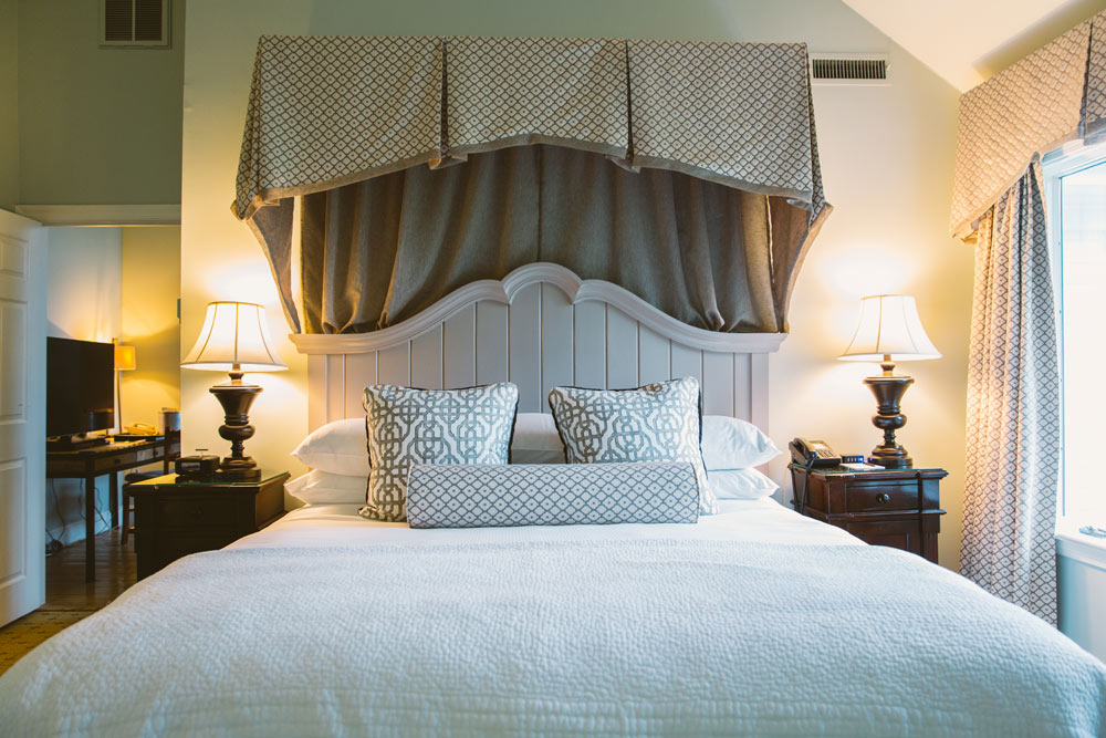 Guest Room at The Fearrington House, Pittsboro, NC