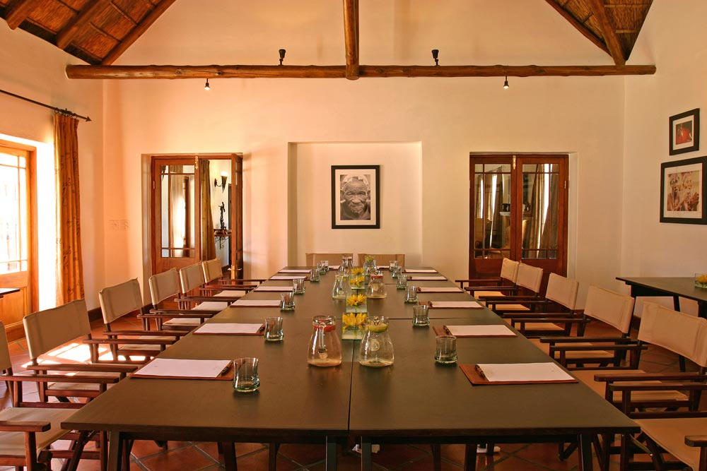 Conference Room at Bushman's Kloof Wilderness Reserve
