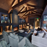 Lounge at Meadowood Napa Valley, CA