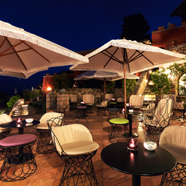 Terrace Lounge at ll Pellicano, Italy
