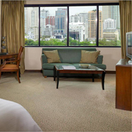 Deluxe Junior Suite at Plaza Athenee Royal Merdien Bangkok, Thailand