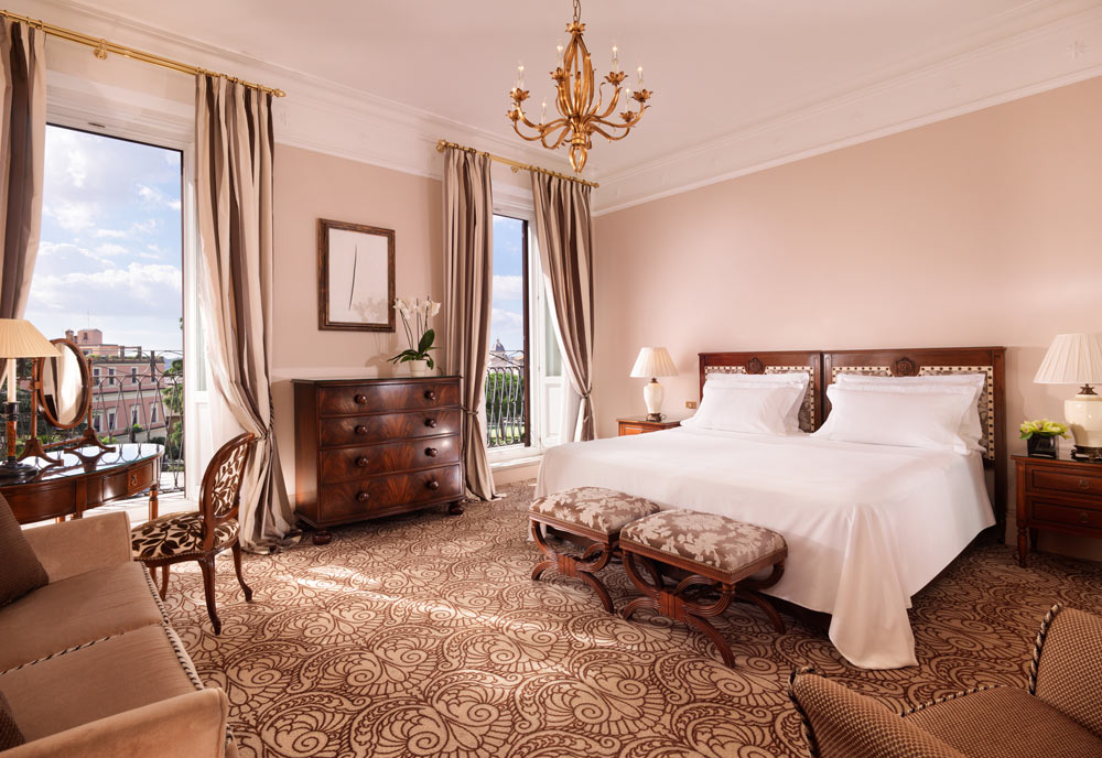 Royal Suite at Hotel Eden Rome
