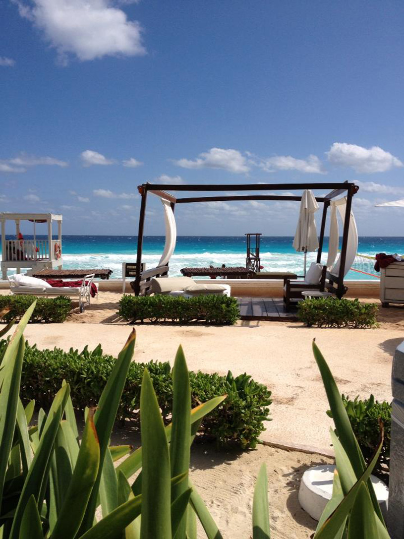 Sandos Cancun Luxury Experience Resort Beach Lounger