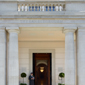 Entrance to The Lanesborough, London, UK