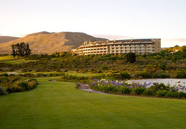 Exterior of Arabella Hotel and Spa Cape Town, South Africa