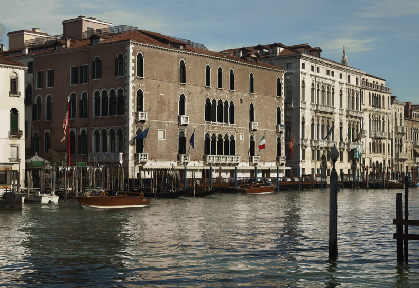 Hotel Gritti Palace Exterior Grand Canal
