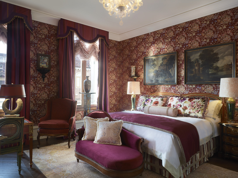 Hotel Gritti Palace The Ruskin Patron Grand Canal Suite Bedroom
