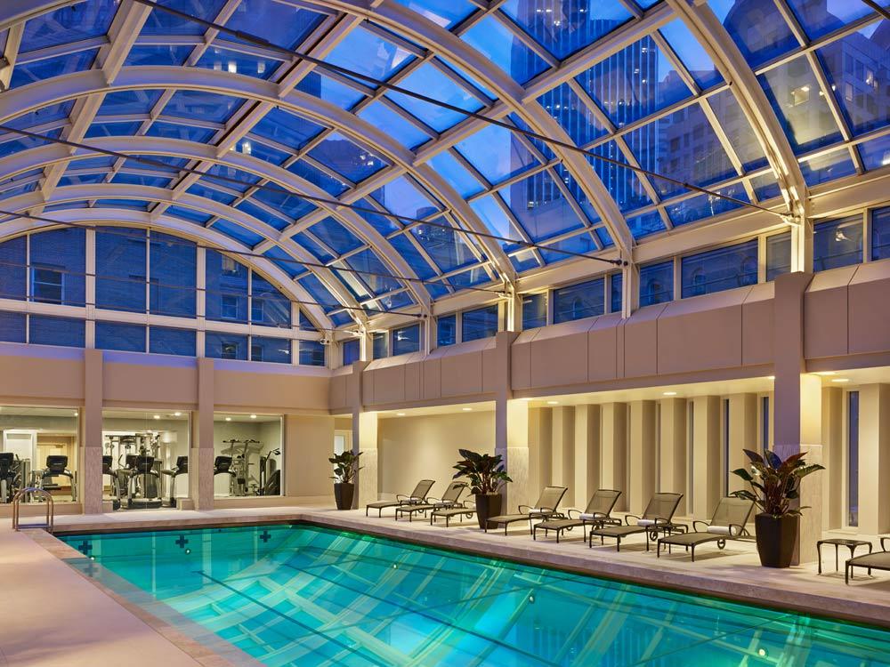 Indoor Pool at the Palace San Francisco