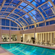 Indoor Pool at Palace Hotel,  San Francisco