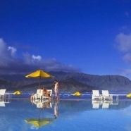Relax and rejuvenate in the luxurious pool featur