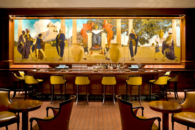 The St Regis New York Old King Cole Mural