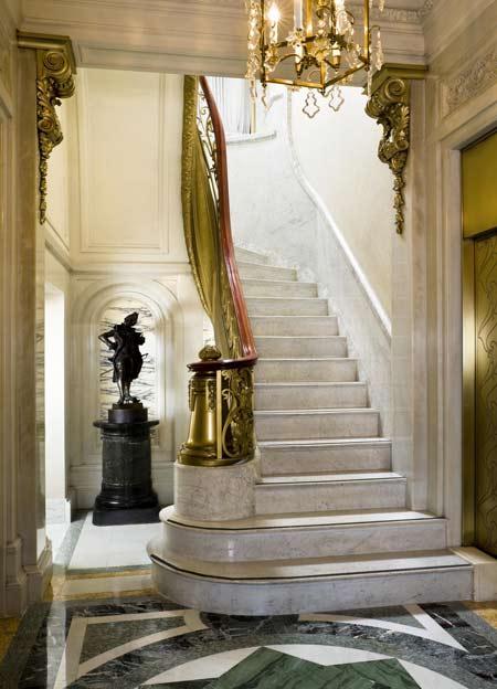 The St Regis New York Million Dollar Staircase