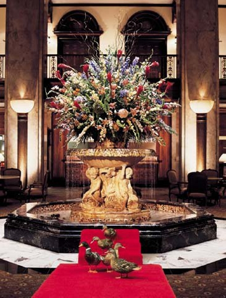 Fountain in the Lobby