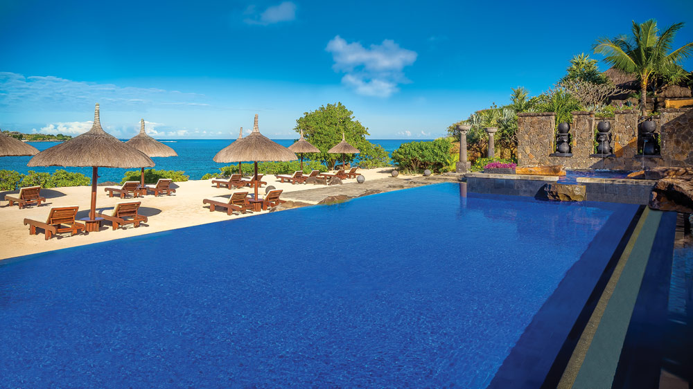 Turtle Bay Pool at The Oberoi Mauritius