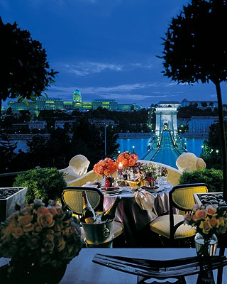Dinner With Riverside View