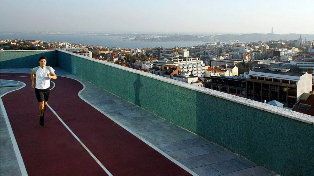 Rooftop Track at Four Seasons Ritz Lisbon, Portugal