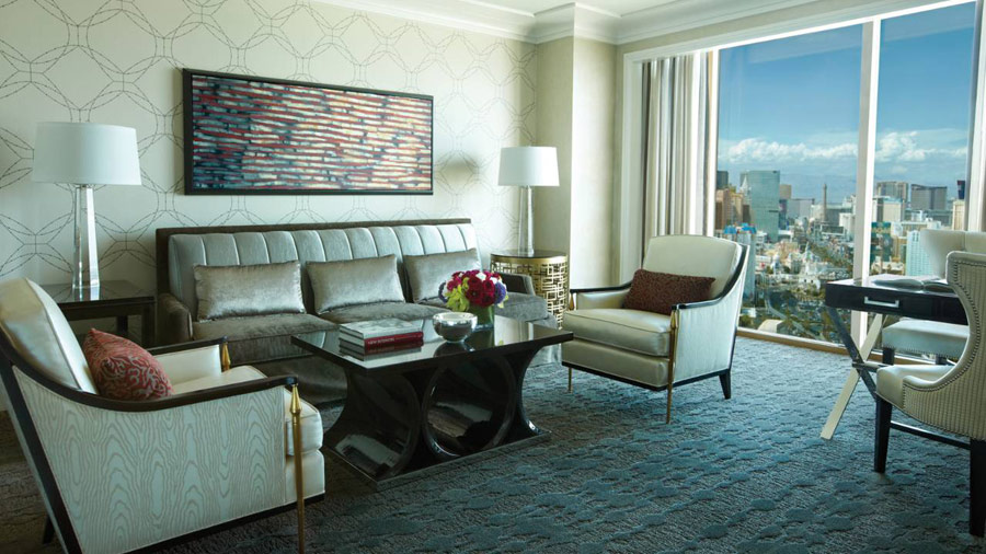 Renovated Four Seasons Las Vegas Guest Room