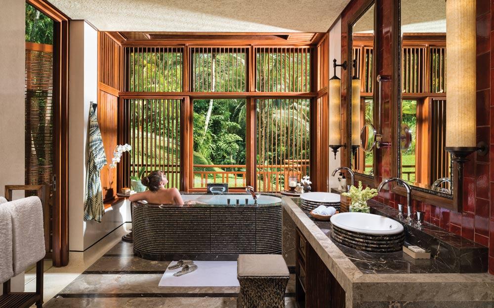 Suite at Four Seasons Sayan Bali, Indonesia