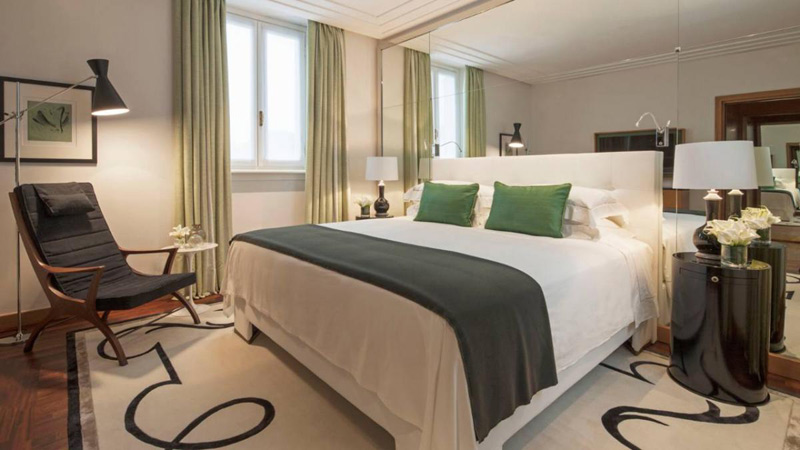 The Four Seasons Hotel Milano Fashion Suite in Milan